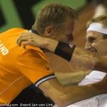 Thiemo de Bakker Davis Cup NL-Oostenrijk Melzer 9191