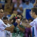 Fabio Fognini Tommy Robredo Croatia Open Umag 2013 6143