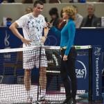 Richard Krajicek met Marcella Mesker Afas TC 2013 2931