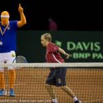 Sfeerplaatjes Davis Cup NL Kroatie 2014 1643