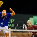 Sfeerplaatjes Davis Cup NL Kroatie 2014 1652