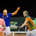 Sfeerplaatjes Davis Cup NL Kroatie 2014 1671