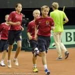 Sfeerplaatjes Davis Cup NL Kroatie 2014 7359