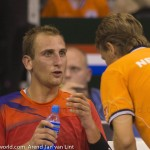 Thiemo Bakker en Jan Siemerink Davis Cup 2014 3770