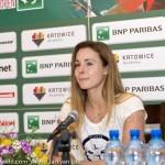 Alizé Cornet Katowice 2014 6959