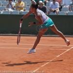Heather Watson Roland Garros 2012 service 7811