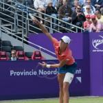Yanina Wickmayer Ordina Open 2009 service 1027