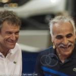 Mansour Bahrami Afas TC 2013 met Wilander 3826