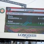 Richel Hogenkamp RG 2018 Maria Sharapova 6965