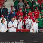 Wit Rusland Bank en fans 2828